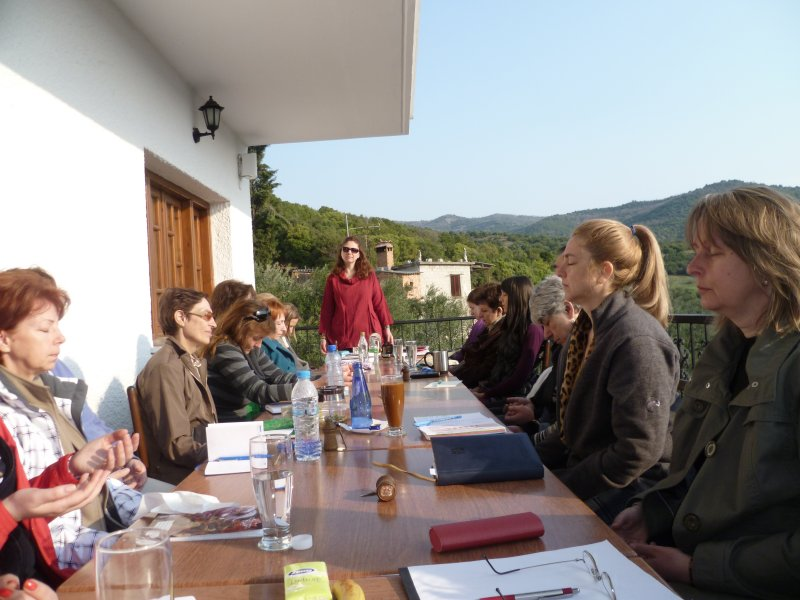Workshop in Greece