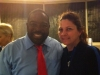 With Les Brown my favorite mentor